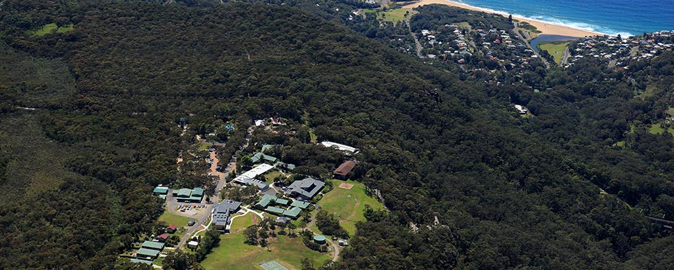 Aerial view of Tops Conference Centre, Sydney